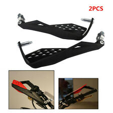2Pcs Motorcycle 22mm Handlebar Carbon Hand Guards Handguard Protector Protection (Fits: Bourget's Bike Works)