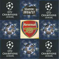 Match Attax Champions League 2016/17 Football Cards Arsenal - Various Players