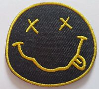 Nirvana Iron On Sew on Patch Embroidered Rock Band Heavy Metal Music Logo Badge