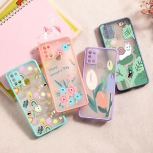 Matte Painted Hard Cover Case For Samsung Galaxy S21 Ultra A32 A12 A21S S20 FE
