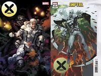 Marvel Comics X-Men #11 Empyre Main + Kubert Variant NM 8/26/2020