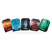 Ultra PRO Trading Card Storage Dividers Unstable Land Multi 5 Colours 15ct