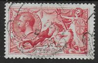 SG416. 5s.Rose-Red. A VFU Example With Fresh Colour & Full Perfs.  Ref:07204