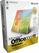 Microsoft Office 2000 Premium Edition Full Retail Box for 2 PC's* NEW! MISB!!