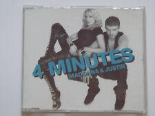 Rare maxi CD 4 MINUTES - MADONNA & JUSTIN TIMBERLAKE