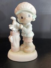 """Precious Moments Figurine """"You Suit Me To A Tee"""" w/ box. 526193 Golfer"""
