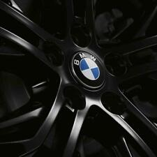 BMW OEM Floating Center Caps Roundel Logo 65MM Diameter MOST Models 36122455269