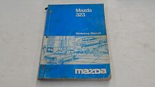 MAZDA 323 WORKSHOP MANUAL BOOK ORIGINAL GENUINE