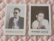 (ver. Seunghoon)Lot of 2 WINNER EXIT : E Mini Album Polaroid Photocard S VER. YG