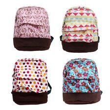 BMC 4 pc Fun Mixed Pattern Design Mini Backpack Style Key Chain Coin Purse Pouch