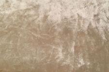 Crushed velvet Fabric upholstered Sleigh BED 4ft6 Double 5ft king Sizes
