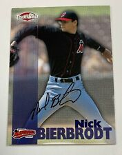 1999 Team Best Nick Bierbrodt Autograph Auto Card AR21*