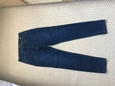 Lucky Brand Jeans Sacha Super Skinny Cut US Size 10/UK 14 Worn Once In Dark Wash