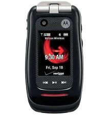 Motorola Barrage V860 Flip Cellular Rugged Mil-Spec Phone - (Black) Verizon