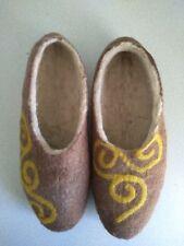 new unisex adult wool home slipper (valenki), handmade