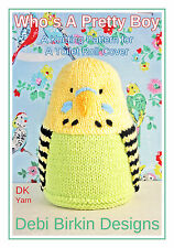 Budgie Loo Roll cover knitting pattern bog budgerigar bird