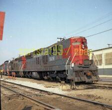 1974 SP Southern Pacific EMD SD7 Locomotive #1406 in LA - Railroad Negative