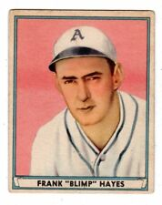 1941 Play Ball #41 Frank Hayes - Philadelphia Athletics, Excellent Condition