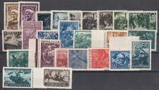 Russia 1942 Year Set, sorted by Michel, MNH OG