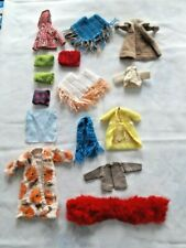 Vintage Lot of Coats, jackets and ponchos & Misc, Barbie/Skipper Doll