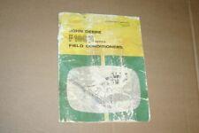 Jd John Deere F100H Field Conditioner Operators Manual