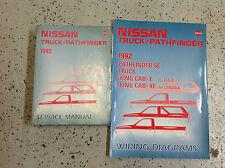 1992 Nissan Factory Truck Pathfinder Service Repair Shop Manual Set W EWD rare
