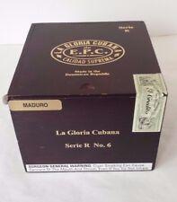La Gloria Cubana de E.P.C. Calidad Suprema Serie R Wood Empty Cigar Box Sliding