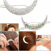 Luna de clip borde flequillo joyas horquilla del pelo del clip
