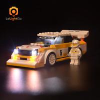 Lichtkit Für LEGO 76897 1985 Audi Sport quattro S1 Speed Champions Licht 76897