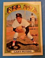 1972 Topps Set Break #503 Gary Peters EX-MT+ to NM Red Sox