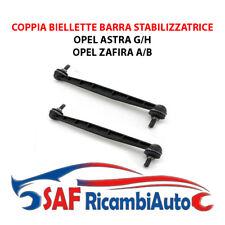 COPPIA BIELLETTE BARRA STABILIZZATRICE ANTERIORE OPEL ASTRA G-H ZAFIRA A-B DX-SX