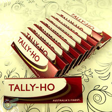 10x TALLY HO Tobacco Cigarette Rolling Paper Papers