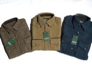 Milano Men Moleskin Shirt Country, Hunting, Walking, Shooting ,Fishing