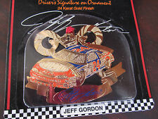 JEFF GORDON Nascar Christmas Ornament 1999 24 KARAT GOLD FINISH New In Package