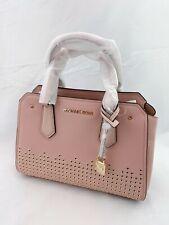 NWT Michael Kors Hayes MD Messenger Leather Pastel Pink/Ballet