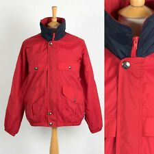 MENS VINTAGE 90'S SAILING STYLE JACKET WINDBREAKER BOMBER CASUAL LARGE L