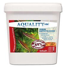 (2,20€/l) AQUALITY PREMIUM Hauptfutter-Flocken 10 L Aquarium Zierfischfutter
