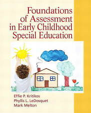 USED (GD) Foundations of Assessment in Early Childhood Special Education