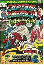 Captain America # 169 Jan 1974 Marvel The Falcon Steve Englehart Sal Buscema
