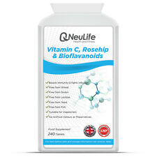 Vitamin C 1000mg with Rosehip and Bioflavanoids - 240 Tablets
