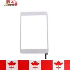 iPad Mini 4 White Touch Screen Digitizer, Home Button, Adhesive & Tempered Glass