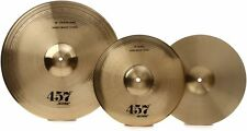 "Wuhan 457 2-piece Cymbal Set - 13"" Hi-hats, 18"" Crash Ride FREE Shipping, NEW"