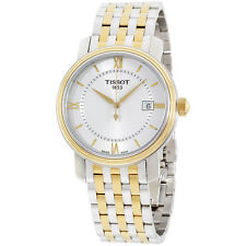 Tissot Bridgeport Silver Dial Stainless Steel Men's Watch T0974102203800