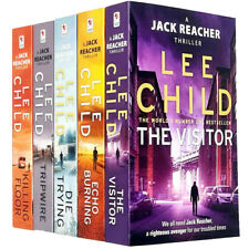 Lee Child Jack Reacher Series 1-5 Collection 5 Books Bundle (killing Floor Die Trying Tripwire The Visitor Echo Burning) Paperback – 2016