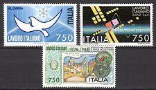 Italy - 1988 Italian technology abroad - Mi. 2063-65 MNH
