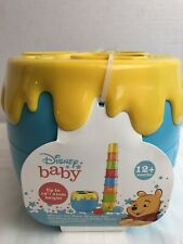 Disney Baby Winnie The Poo Hunny Potstacking Cups And Shape Sorter