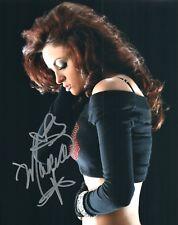 Maria Kanellis  WWE Diva / ROH Autograph Signed 8x10 Photo #48A Playboy Impact