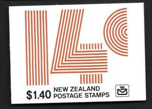 NEW ZEALAND, 1978  $1.40c, BOOKLET SB 33, MNH, COMPLETE, CAT £3