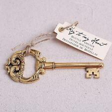 Vintage Victorian Key Bottle Opener Barware Wedding Party Favours Gift