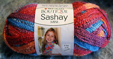 Save 50% Red Heart Boutique Sashay Fruit Punch - Mix Of Reds Blue Purple